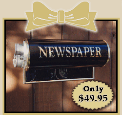 Newspaper Holder, includes shipping